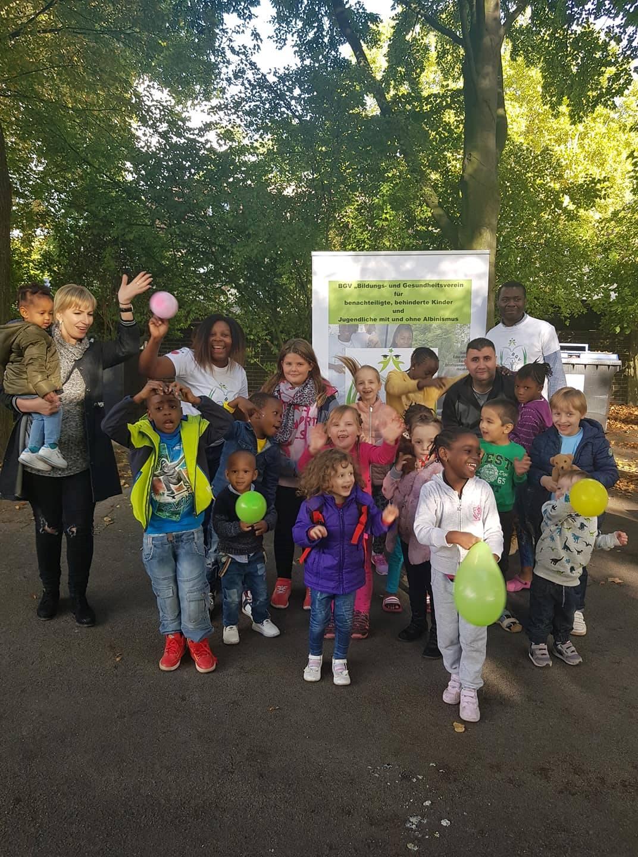 Kinderwelttag im Flüchtlingsheim 2018